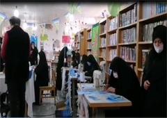 تولید ماسک در کانون شهید بصیر مشهد